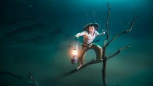 """""""VonWong's Underwater Fisherman in collaboration with Ballentines"""""""