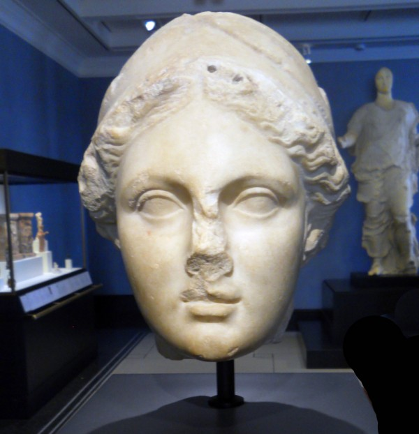 Head_of_Athena_Getty_Villa - public domain images