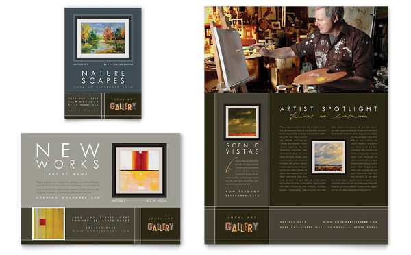 art-gallery-postcard-templates
