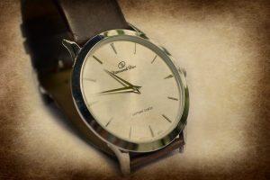 Texture wrist watch