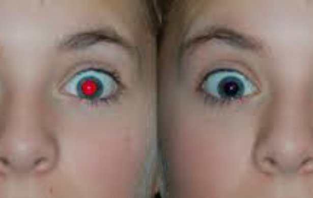 How To Correct Red Eye picture